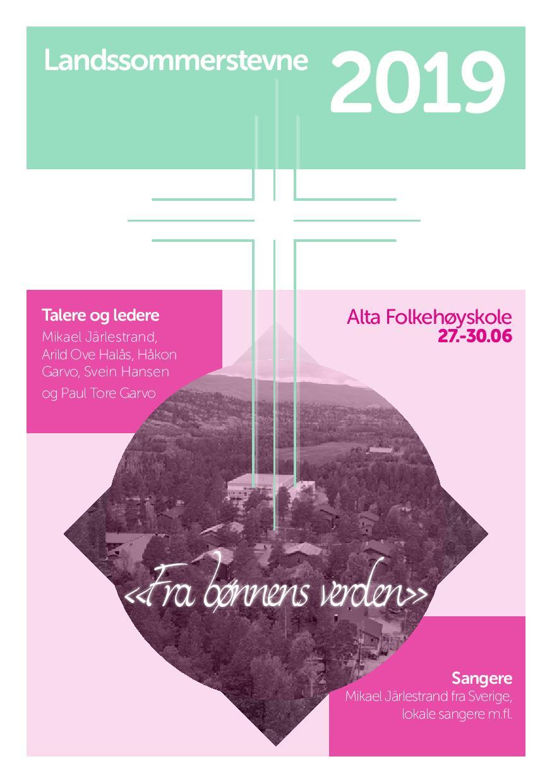Landssommerstevne 2019 @ Alta Folkehøgskole